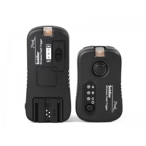 Pixel TF-373 Flashes Grouping Trigger for Sony With 4 Receivers