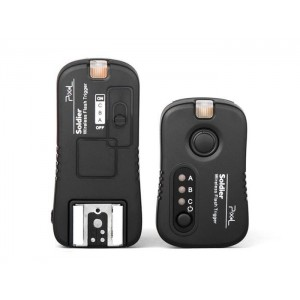 Pixel TF-374 Flashes Grouping Trigger for Olympus With 3 Receivers