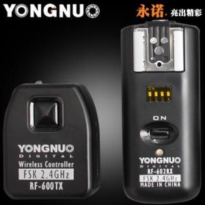 YONGNUO RF-602 C3 Wireless Remote Flash Trigger for Canon 5DII 5D2 5D3 7D 6D 5