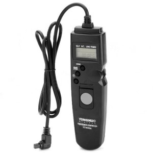 YongNuo TC-C3 Precision Timer Remote Shutter Switch for Canon EOS DSLR Cameras