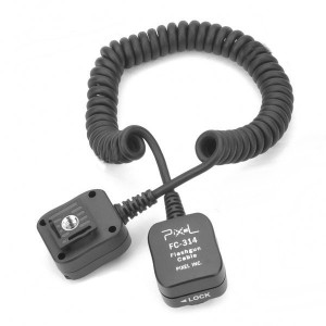FC-314/S Off Camera Flashgun Cable for Olympus/Panasonic (1.8M-Length)