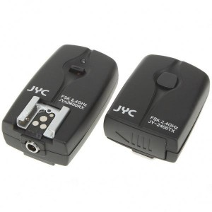 JY-2400 N2 3-in-1 FSK2.4GHz 16-Channel Wireless Shutter Flash Trigger for Nikon D70S/D80
