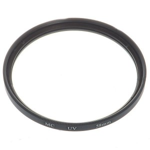 Multi-Coated UV Lens Filter (58mm)