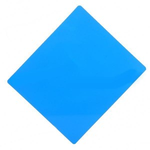 Square Resin Full Color Filter for DSLR - Blue