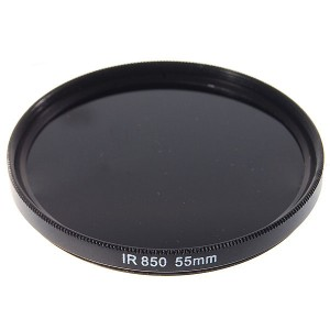 55mm 850nm Infrared IR Filter for Cameras