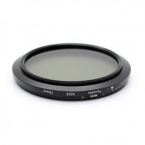 GPE Neutral Density Variable NDX Camera Lens Filter (58mm)
