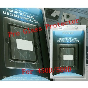 Fotga Glass LCD Screen Protector for Canon 450D/500D