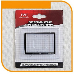 Highest Protection JYC Pro Glass LCD Screen Protector for Canon 60D