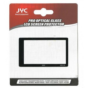 Highest Protection JYC Pro Glass LCD Screen Protector for Sony NEX3, NEX5
