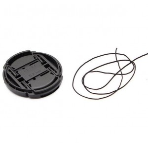Snap-on Lens Cover for Canon DSLR Cameras (52mm)