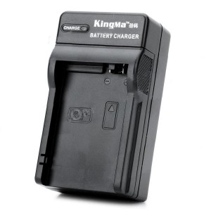 KINGMA DC99 Battery Charging Cradle for Canon 650D - Black (AC 100~240V / US Plug)