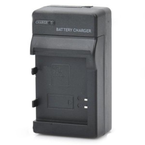 Camera Battery Charger Cradle for Samsung SLB-1137C (AC 100~240V / 2-Flat-Pin Plug)