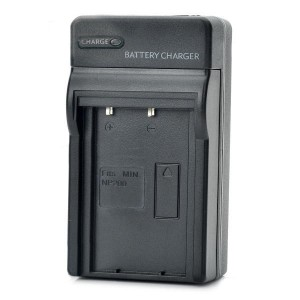 Camera Battery Charger for Minolta NP-200 (AC 100~240V / 2-Flat-Pin Plug)