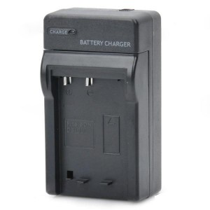 Camera Battery Charger Cradle for Sony BD1 (AC 100~240V / 2-Flat-Pin Plug)
