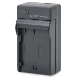 Camera Battery Charger Cradle for Pentax DLI90 (AC 100~240V / 2-Flat-Pin Plug)