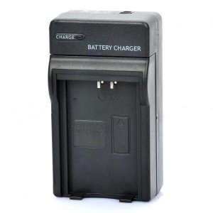 Camera Battery Charger Cradle for Kyocera BP-1100S - Black