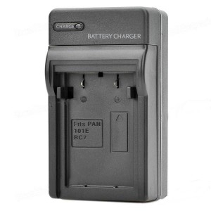 Digital Camera Battery Charger for Panasonic S101E / BC7 (100~240V)