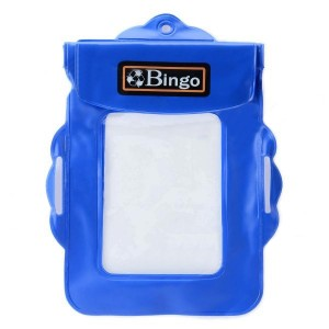 Bingo WP01_05 Waterproof Protective PVC Bag for Small Camera - Blue