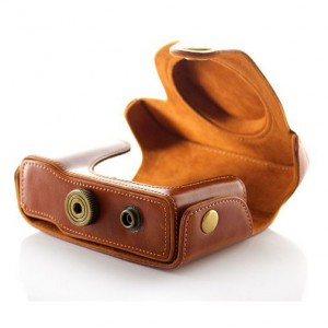 Protective PU Leather Carrying Bag for Canon G15