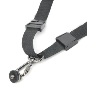 Focus Universal Shoulder Strap w/ Underarm Fixed Belt for DSLR Cameras - Black