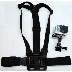 Adjustment Elastic Body Chest Strap Mount Belt Harness for GoPro Hero 3 Hero 2