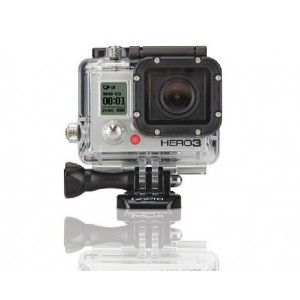 Go pro waterproof case gopro3 housing with side opening without lens for hero 3