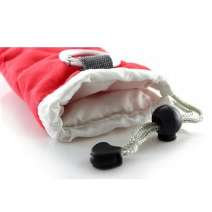 Protective Cotton Pouch with Strap for Smartphones