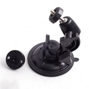 for black plastic gopro mount adapter + strong window car glass suction cup trip