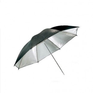 "36"" 94cm Black & Silver Studio umbrella Double-Bayer"