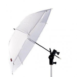 33inch 84cm Translucent White Soft Studio Umbrella Flash
