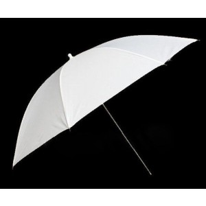"43"" Photo Studio Flash Diffuser White Soft Umbrella"