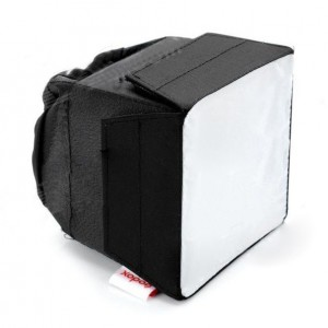 GODOX SB1010 universal plegable flash Softbox - Negro + Blanco (10 x 10cm)