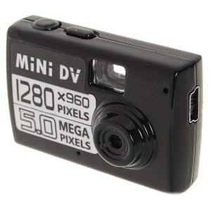 Ultra Mini Screen-Free 3.0 Mega Pixels CMOS Motion Detection Video Camera (Micro SD/TF Slot)