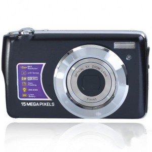 "2.7"" TFT LCD 8.1MP CMOS Compact Digital Video Camera w/ 4X Digital Zoom/SD Slot"
