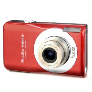"SDI500 5.0MP CMOS Digital Video Camera w/ 5X Optical Zoom / SD - Red (2.7"" LCD)"