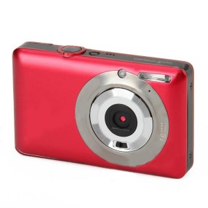 "DC-660A 5.0MP Digital Camera w/ 2.7"" TFT Screen, 8X Digital Zoom - Red"