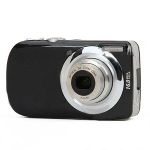 "DC-110 3.0"" LCD TFT Max 16MP 5X Optical Zoom Digital Camera - Black"