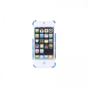Protective Hollow-Out Style PVC Back Case for iPhone 5