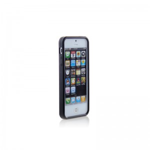 Rubber Protective Case for iPhone 5 (Black)