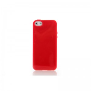 TPU Protective Case for iPhone 5 (Red)