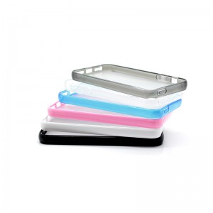 TPU Protective Case for iPhone 5 (Translucent)