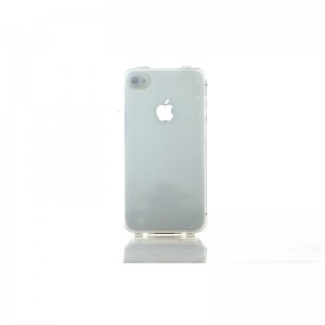 TPU Protective Case for iPhone 4/4S (Transparent)