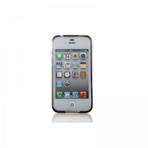 TPU Protective Case for iPhone 4/4S (Grey)