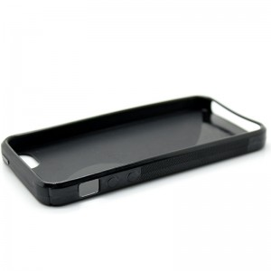 Stylish TPU Protective Case for iPhone 5 (Black)