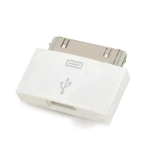 30-pin Male to Micro USB Female Data / Charging Adapter for iPhone 4S / 4G / 3G / iPad 2 + More
