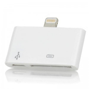 Ultra-Thin SD Card Reader for iPad Mini / iPad 4 - White