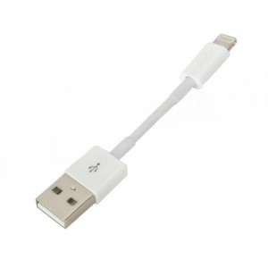 USB to 8-Pin Lightning Data/Charging Cable for iPad Mini / iPad 4 / iPhone 5 / iPod Touch 5 - White