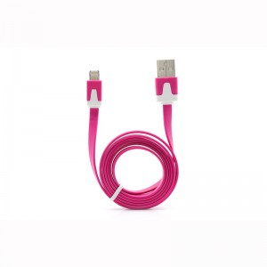 Lightning 8-pin to USB Data/Charging Flat Cable for Apple iDevices