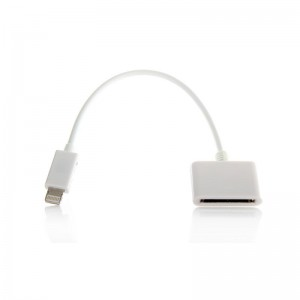 Lightning 8-pin to 30-pin Adapter Cable for Apple iDevices
