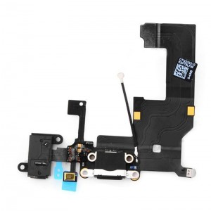 Replacement Original Charging Port Flex Cable for iPhone 5 Black